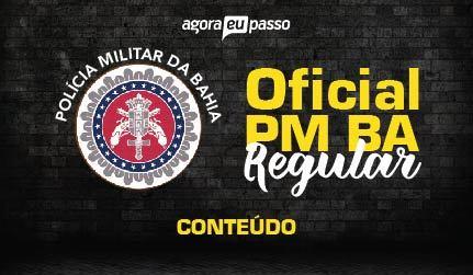 Oficial - Policia Militar da Bahia - CFO BA