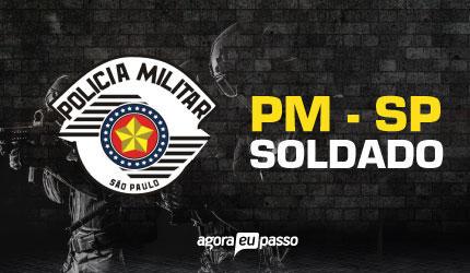 PM SP - Soldado da Polícia Militar de São Paulo