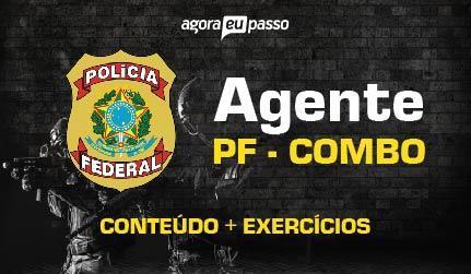 AGENTE - POLÍCIA FEDERAL - PF COMBO