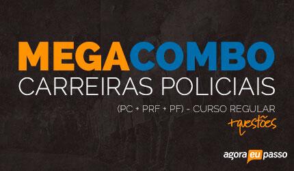Megacombo Policial: PRF + PF + PC