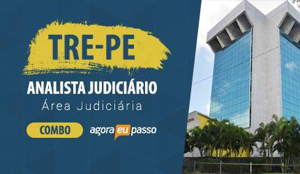 ANALISTA JUDICIÁRIO - ÁREA JUDICIÁRIA - TRE PE - COMBO