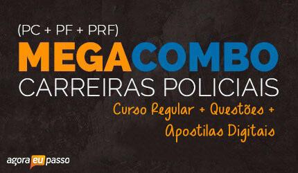 Megacombo Policial: PRF + PF + PC + Apostilas Digitais