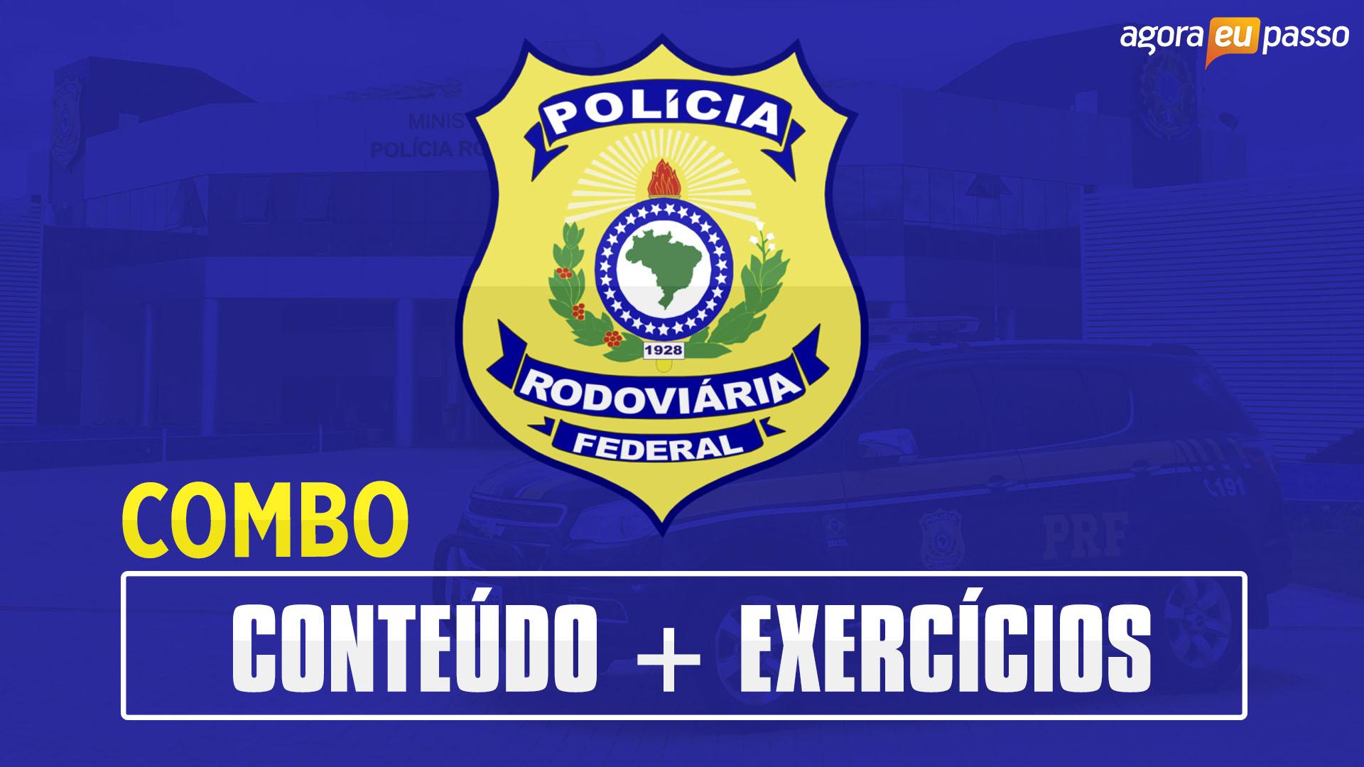 Policial Rodoviário Federal - PRF - Combo
