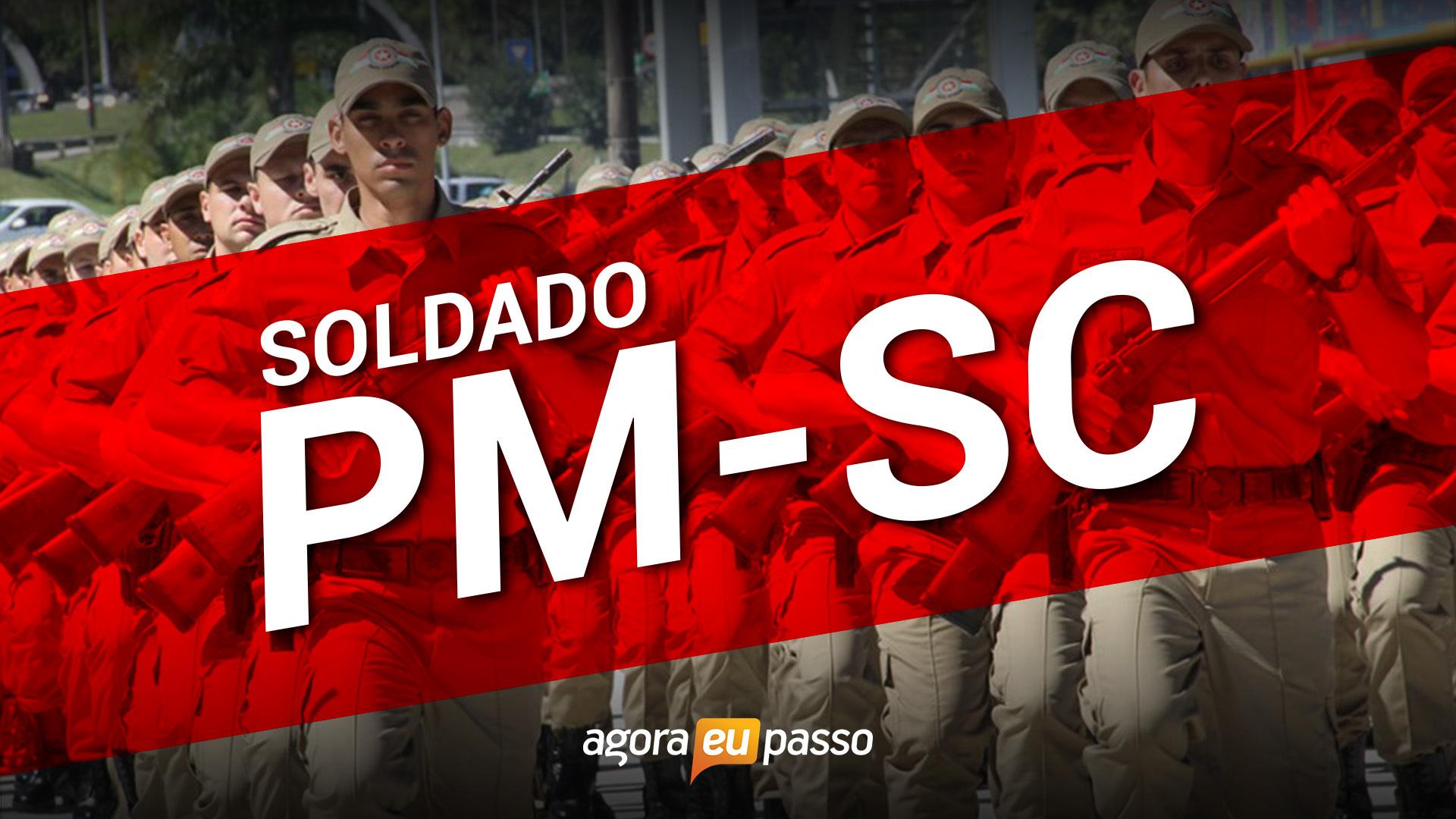 PM SC - Soldado da Polícia Militar de Santa Catarina