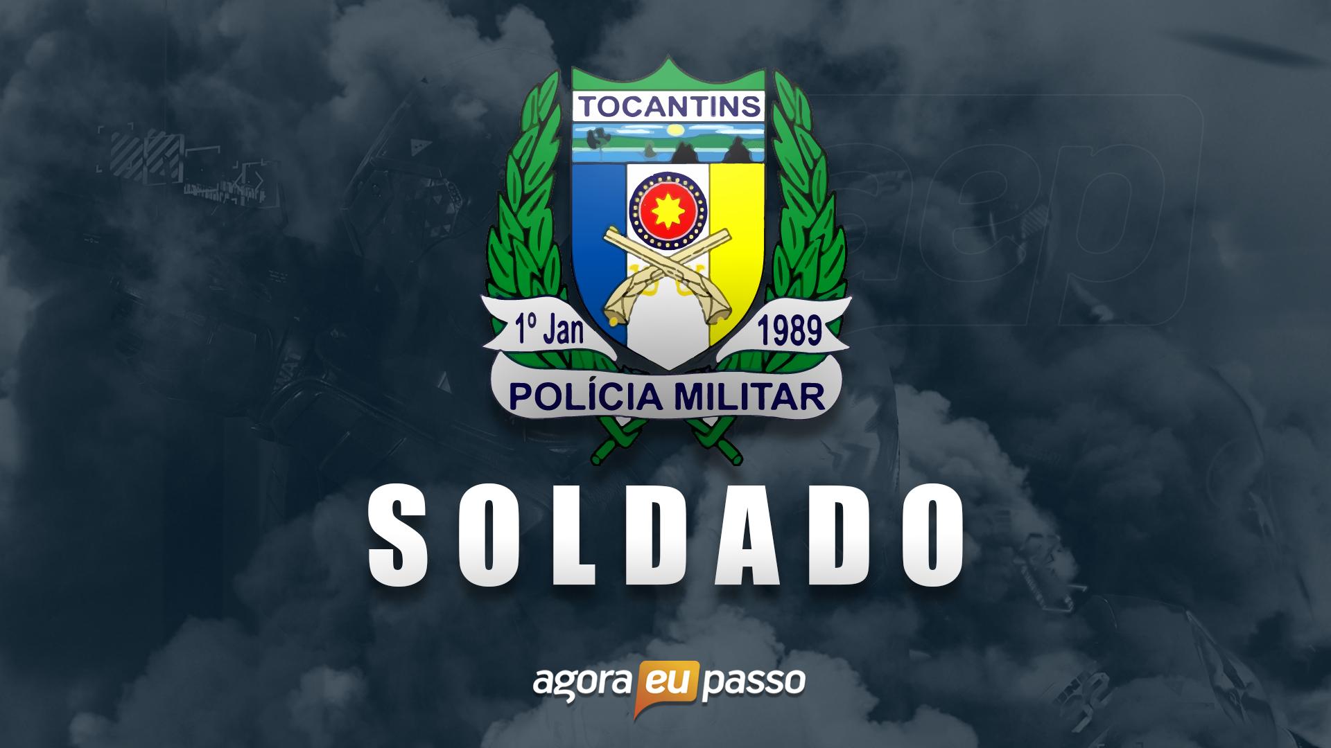 PM TO - Soldado da Polícia Militar de Tocantins